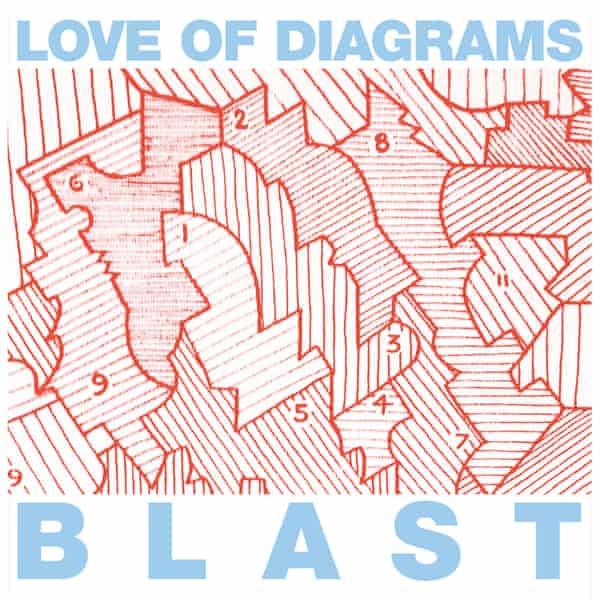 The cover of Love of Diagram's album Blast.