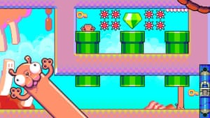 Silly Sausage in Meat Land for iOS.