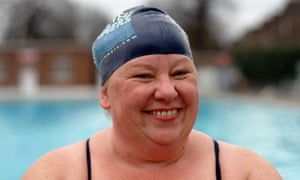 Sally Goble at Brockwell Lido