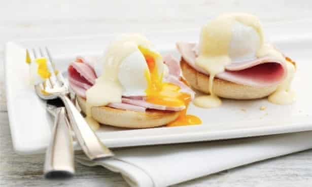 Eggs Benedict: a dish in which to luxuriate.