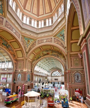 Interior of the Exhibition Building today.