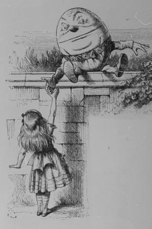 Alice meeting Humpty Dumpty