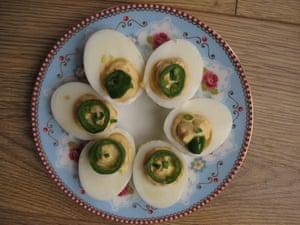 Chef John's devilled eggs