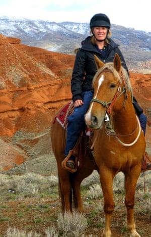 Lauren on horse