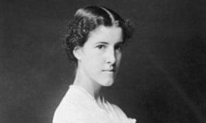 """A fiercely independent firebrand"" … Charlotte Perkins Gilman, circa 1896."