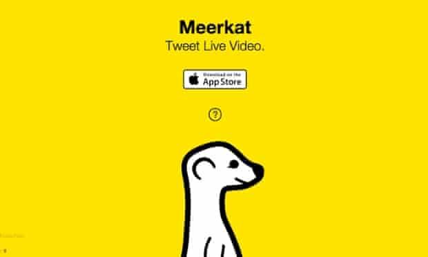 Meerkat: a new content marketing tool.