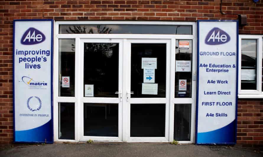 An A4e centre in Grimsby, Lincolnshire.