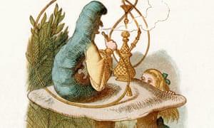 Alice meets the caterpillar