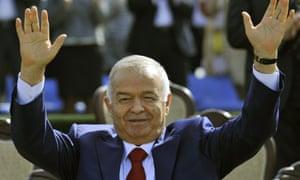 Uzbekistan's President Islam Karimov