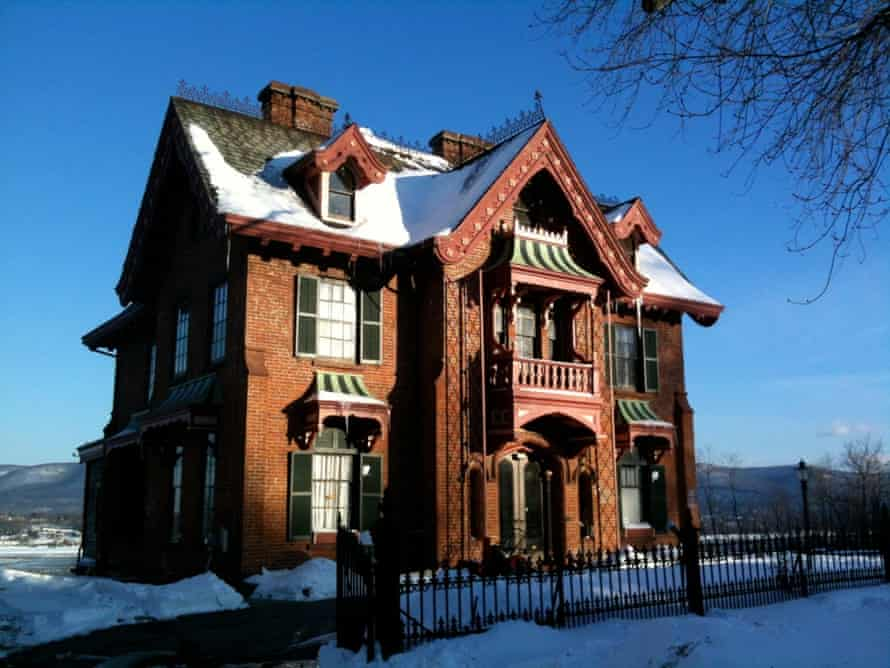 House designed by architect Andrew Jackson Downing in Newburgh, New York.