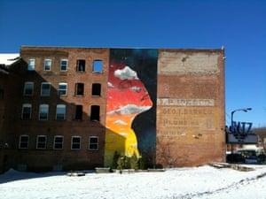 Newburgh mural.