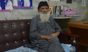 Charity worker Abdul Sattar Edhi, head of Pakistan's Edhi Foundation.