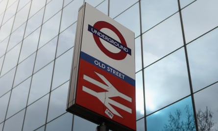 The incident on the Northern line at Old Street tube station is being treated by police as an accident.