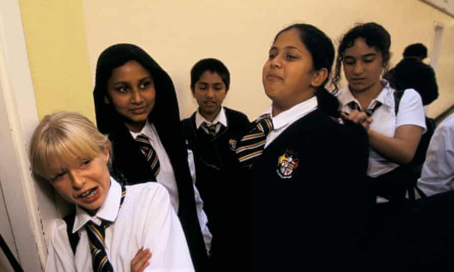 Pupils at a London school.