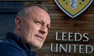 Neil Redfearn of Leeds United at the club's successful training academy at Thorp Arch near Wetherby