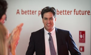 Has Ed Miliband tie issues?