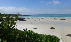 Quiet beaches abound.
