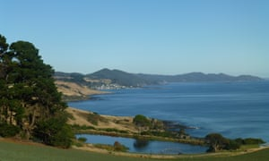 The view from Table Cape to Boat Harbour.