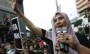 Nurul Izzah Anwar, daughter of oppression leader Anwar Ibrahim