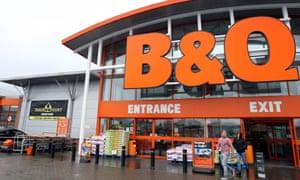 A B&Q store in Ballymena, Co Antrim.