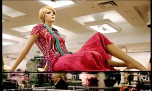 Mannequin in M&S