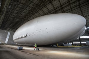 The Airlander 10, the world's largest aircraft: a hybrid of plane, balloon and hovercraft