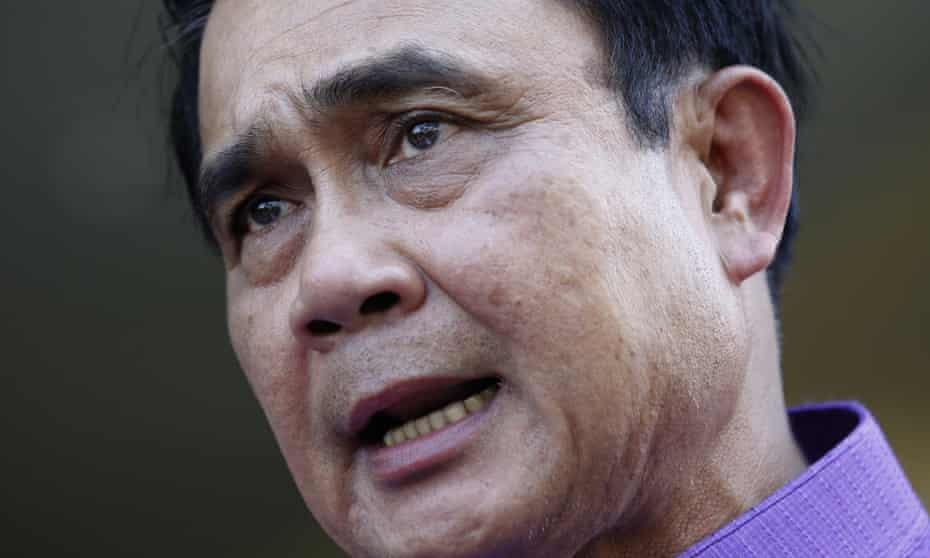 Thailand's prime minister, Prayuth Chan-ocha