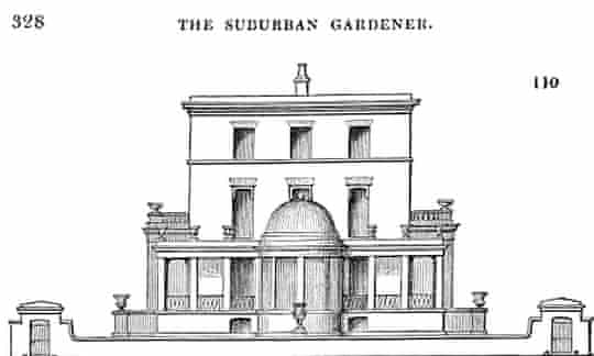 Porchester Terrace from The Suburban Gardener.