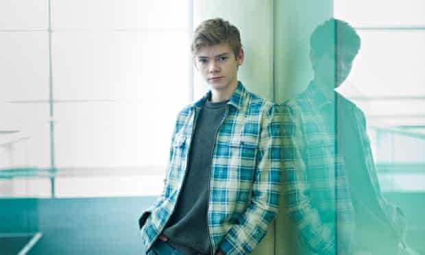 Thomas Brodie-Sangster photographed by Pal Hansen for the Observer New Review.