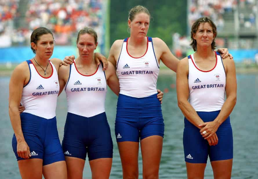 For Grainger (far right), along with her team-mates Annie Vernon, Debbie Flood and Frances Houghton, silver was a huge disappointment in Beijing in 2008.