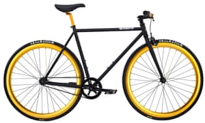 Two wheels, one gear: the Pure Fix Original with Thick Slick tyres.
