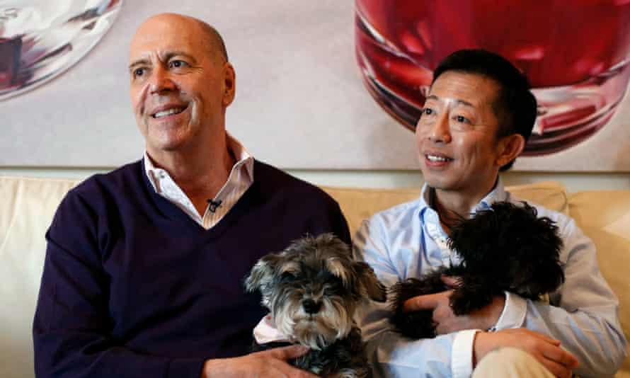 Bob Tobin (left) and Hitoshi Ohashi