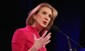 DES MOINES, IA - JANUARY 24:  Carly Fiorina, Former CEO of Hewlett-Packard Company, speaks to guests  at the Iowa Freedom Summit on January 24, 2015 in Des Moines, Iowa. The summit is hosting a group of potential 2016 Republican presidential candidates to discuss core conservative principles ahead of the January 2016 Iowa Caucuses.  (Photo by Scott Olson/Getty Images)candidatesPoliticspolititians
