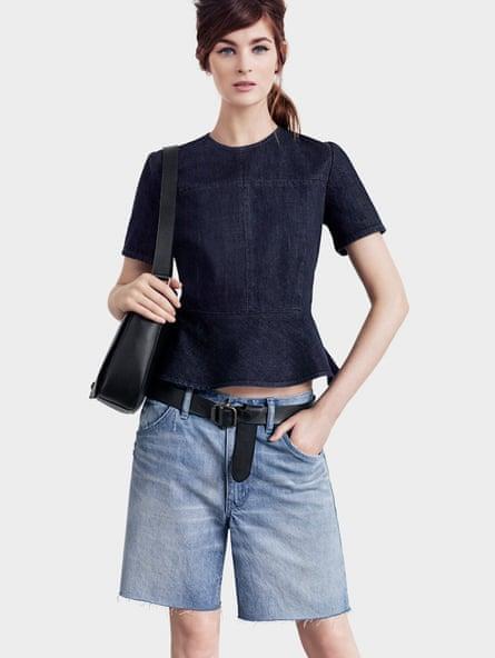 Gap's dad shorts (belt required)