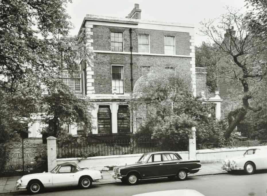 3–5  Porchester Terrace in 1967.