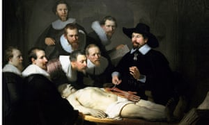 'The Anatomy Lesson of Dr Nicolaes Tulp', 1632