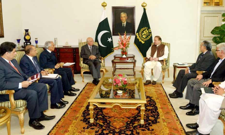 Meeting between Pakistani and Saudi Arabian representatives on situation in Yemen.