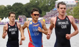 Both Brownlee brothers worked closely with the EIS on their journey to triathlon glory at the London 2012 games.
