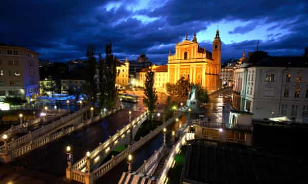 Ljubljana's Old Town: the city will be European Green Capital in 2016.