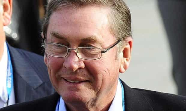 Lord Ashcroft said he was resigning with 'immediate effect'.