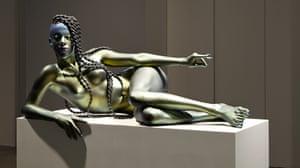 Frank Benson's sculpture Juliana, 2015.