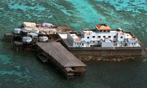 spratly islands mischief reef china