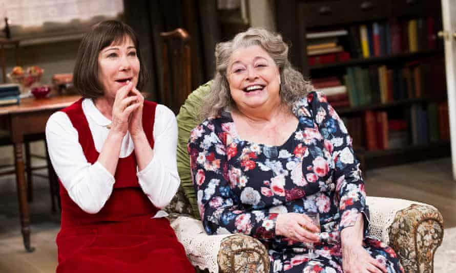 From left, Zoe Wanamaker as Smith and Lynda Baron as her aunt in Stevie at the Minerva theatre, Chichester