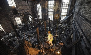 Mackintosh Library ashes