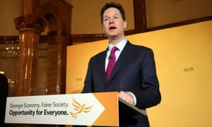 Nick Clegg Lib Dems election paternity leave