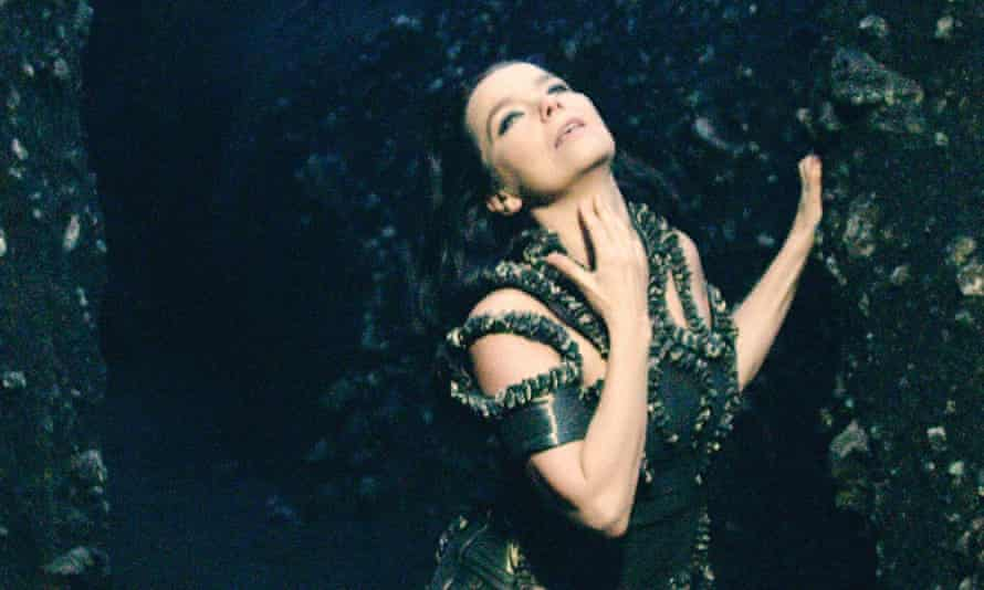 Bjork in Black Lake, directed by Andrew Thomas Huang.