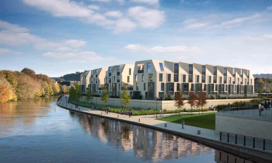 Western Riverside housing, Bath