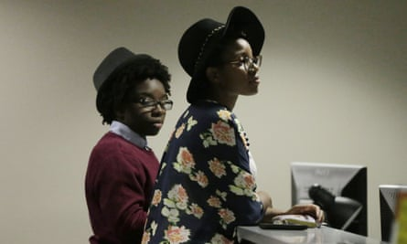 Shanté  Wolfe (left) and Tori Sisson line up on 9 February to become Alabama's first same-sex couple to lodge their marriage licences.