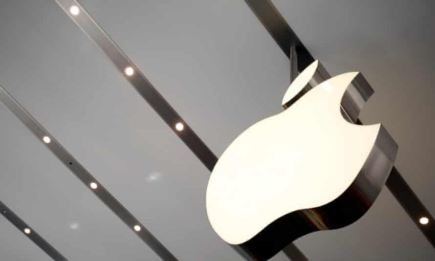 The Apple logo inside an Apple store in Tokyo. The company is working to fix a potential security issue which could leave devices vulnerable to hackers.