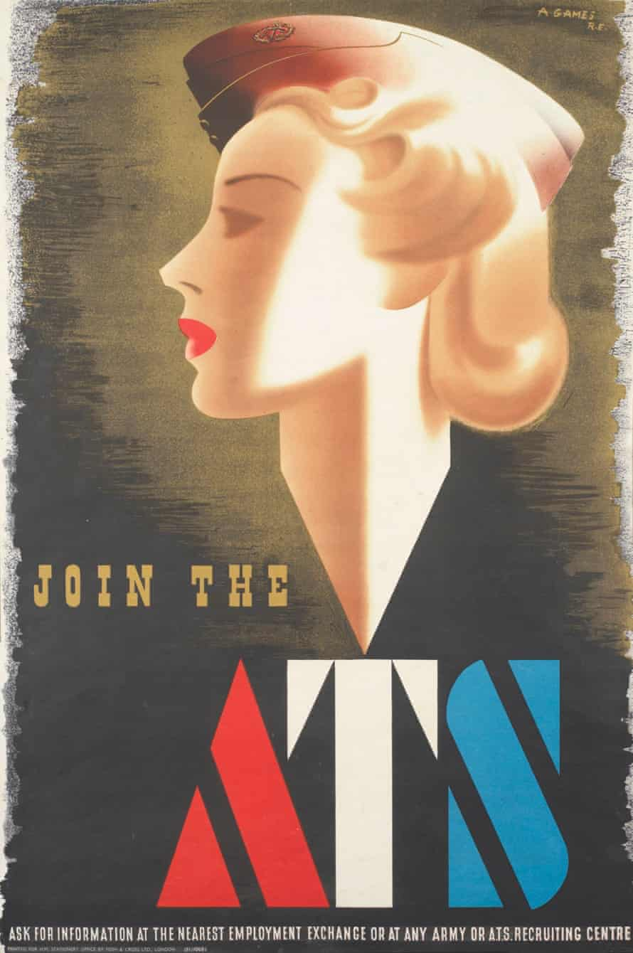 Fashion on the Ration at the IWM – Join the ATS (1941) Abram Games poster.